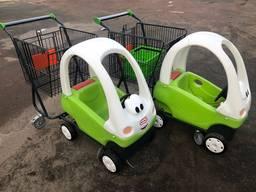 Тележка Машинка для супермаркета Производства Польши