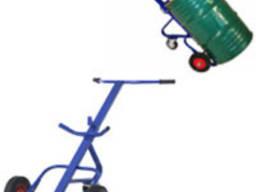 Тележка для металлической/медовой бочки 250-300 кг VZ350В