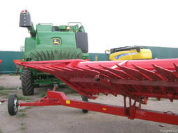 Тележка для транспортировки жатки усиленная (5м-12м)