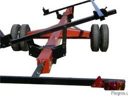 Тележка для транспортировки жатки усиленная (5м-12м) - фото 3