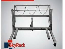 Тележка гидравлическая для перемещения сдвоенных колес SkyRa