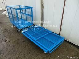 Тележка-контейнер сетчатый ТК-4