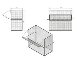 Тележка контейнерная