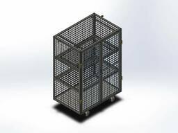Тележка контейнерная для кондитерских