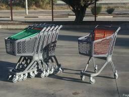 Тележка покупательская пластиковая 75 произодство Испания