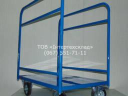 Тележка складская грузовая для ДСП ТМ-3 Есть в наличии !