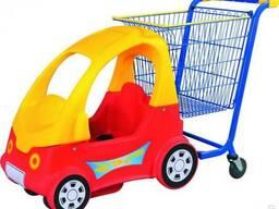 Машинки тележки для торговых центров