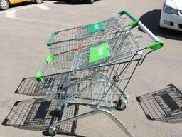 Тележки В магазин 60-ти литровые на колесах для продуктов!!!