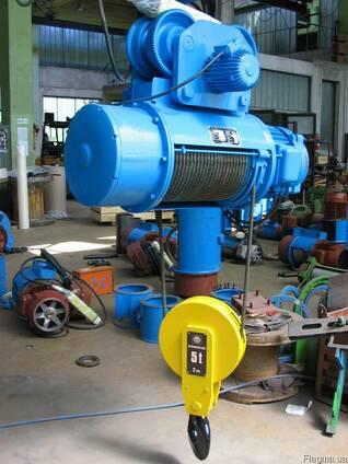 Тельфер электрический, 5 тонн 6 метров