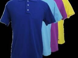 Тенниска Поло, футболка с воротником, спецодежда,