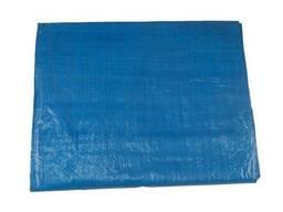 Тент Intertool - 2 x 3 м x 65 г/м², синий (AB-0203)