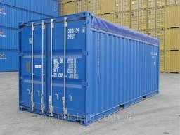 Тент на контейнер 20, 40 футов из ткани ПВХ