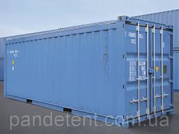 Тент ПВХ на контейнер, тент на контейнер морской