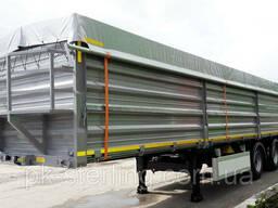 Тент накидка пвх на зерновоз, кузов, контейнер з фурнітурою