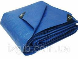 Тент строительный 10х12м синий 65г/м2