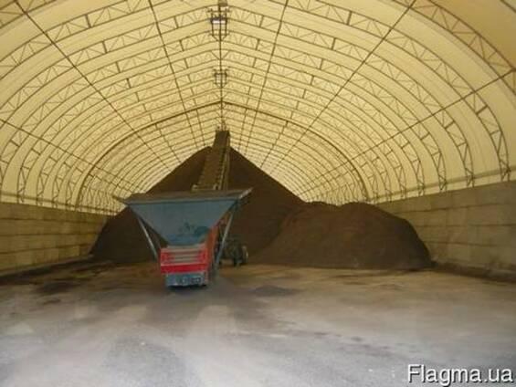 Ферма, ангар, зернохранилище16*40
