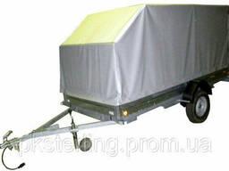 Тенты для легковых прицепов из ткани ПВХ 650г/м2- Бельгия