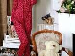 Теплая пижамка с кармашком на попе! Отличный подарок для дев - фото 1