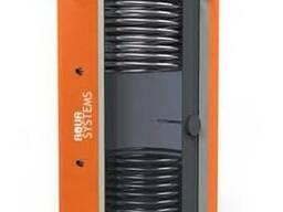 Теплоаккумулятор AQS350л с двумя ТО из ЧС и НС премиум класс