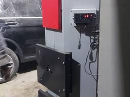 Теплогенератор дровянной Адес. Котел отопления воздушный 35-70 кВт