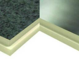 Теплоизоляционные плиты PIR 100мм стеклохолст