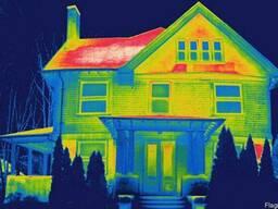 Тепловизионное обследование. Энергоаудит зданий и сооружений