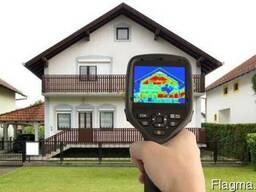 Тепловизионный анализ потери тепла в Василькове