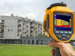 Тепловизионое обследование зданий и сооружений, энергоаудит