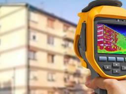 Тепловизор Черкассы, обследование тепловизором, энергоаудит, термография