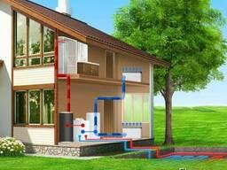 Тепловой насос для кондиционирования и отопления.