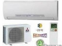 Тепловые насосы Zubadan Mitsubishi для отопления и охлаждени