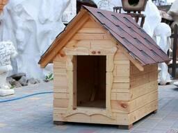 Будка для собаки 72х52х75 см. Собачьи будки теплые