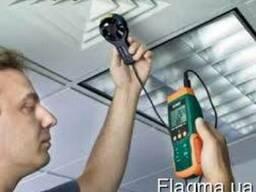 Термоанемометр/регистратор с вентилятором Extech SDL310
