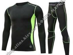 Термобелье мужское Thermal Underwear CD Black/Green Reflective Adult 165-170 см S3181