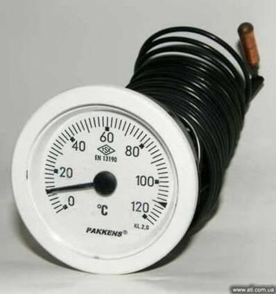 Термометр 0-120 градусов Pakkens