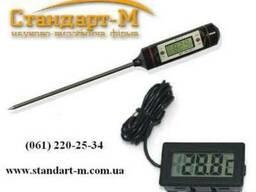 Термометр игольчатый цифр, Термометр с выносным датчиком