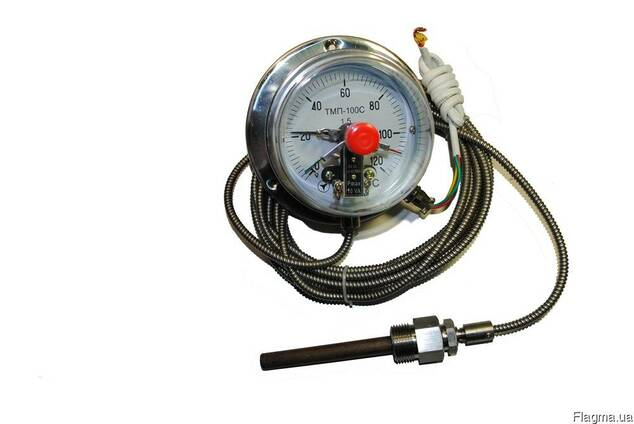 Термометр манометрический (электроконтактный)