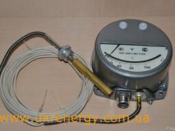 Термометр манометрический сигнализирующий ТКП-160 Сг-М2