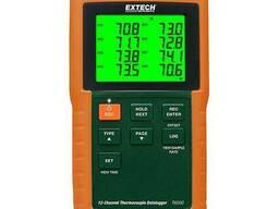 Термометр-регистратор 12-канальный Extech TM500