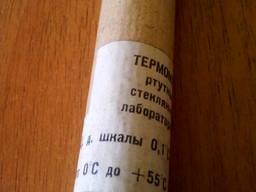 Термометр ртутный лабораторный ТЛ-4 0. .. 55*С ц. д. 0.1 *С