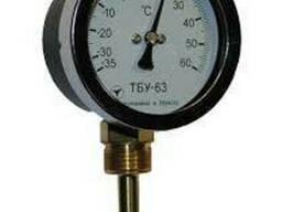 Термометры биметаллические ТБУ-63 радиальные, осевые.