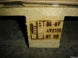 Термообработка и клеймение тары деревянной, тара на экспорт