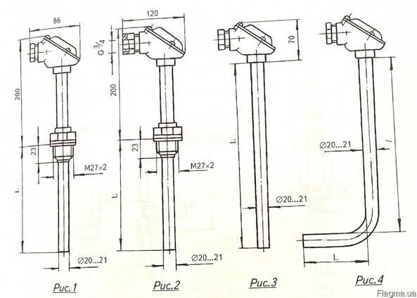 Термопара Термоэлектрический преобразователь ТХА-2388