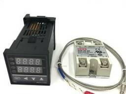 Терморегулятор ПИД-контроллер REX-C100