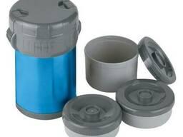 Термос Ferrino Inox Lunch Jug With 3 Containers 1. 5 Lt Blue