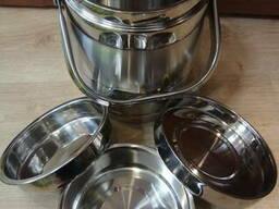 Термос пищевой, харчовий, для горячей еды, воды, гарячої їжі - фото 6