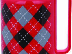 Термос со стеклянной колбой на 1 л Con Brio CB-352-red