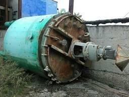 Термосбраживатель, реактор, эмалированный 10 м. куб. б/у идеа