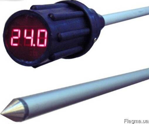 Термоштанга электронная (щуп термометр), термометр для зерна