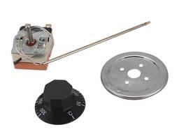 Термостат 3мм WZB 50-300-320 C Для дым машины духовки Терморегулятор